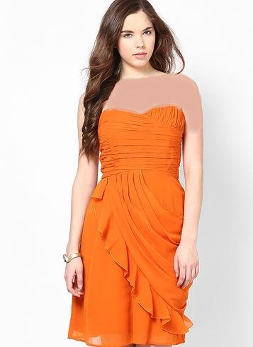 شیک ترین مدلهای لباس مجلسی دخترانه کوتاه