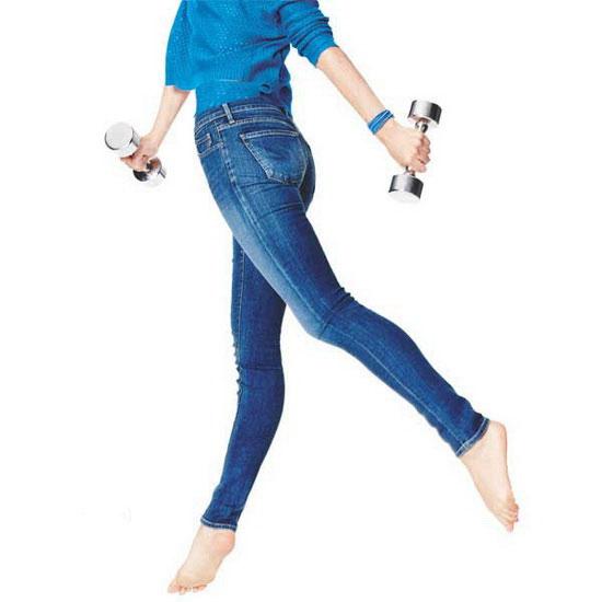 بدون ورزش کردن پاهایتان را لاغرتر کنید!