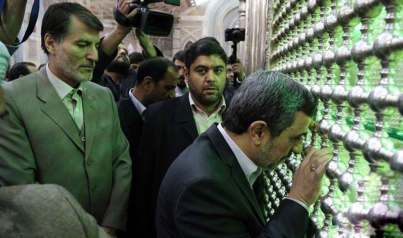 حضور دوباره محمود احمدی نژاد اذهان عمومی+ عکس