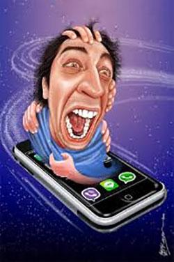 افرادی که اتفاقات زندگیشان را در فضای مجازی منتشر می کنند!