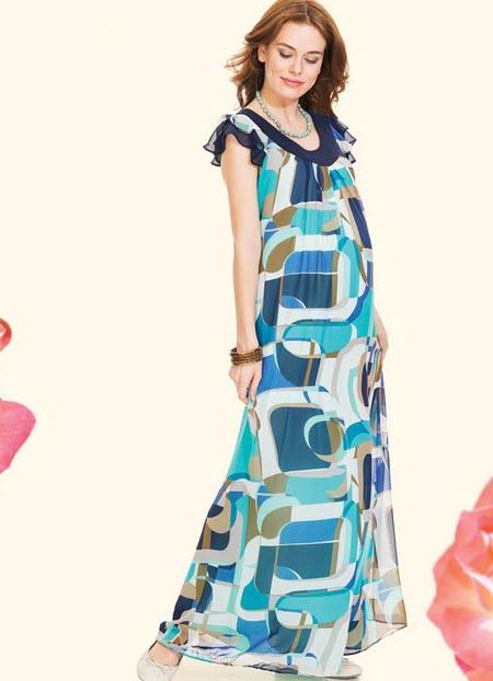 انواع مدل های جدید لباس بارداری
