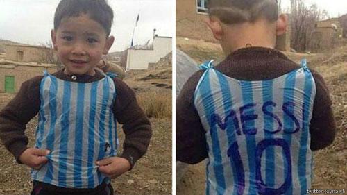 لیونل مسی برای کمک به مرتضی احمدی اعلام آمادگی کرد