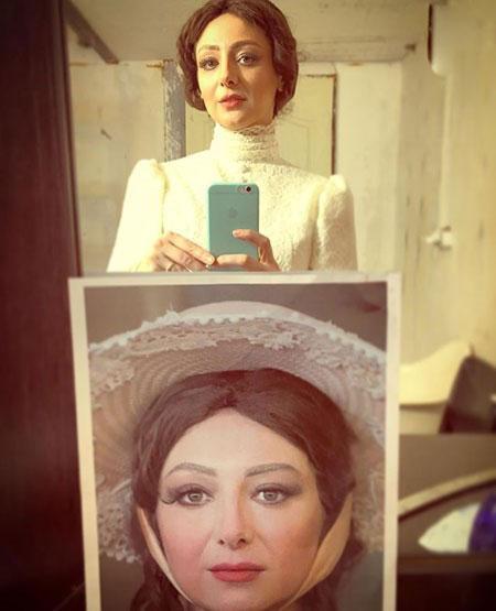 تیپ بدون روسری بازیگر ایرانی ویدا جوان+عکس