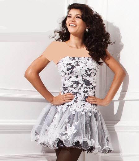 مدلهای جدید لباس مجلسی دخترانه کوتاه
