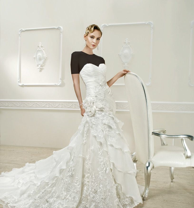 مدلهای جدید لباس عروس مخصوص بهار ۹۵