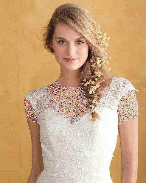 زیباترین مدل موی عروس ۲۰۱۶