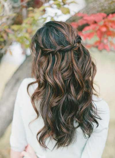 انواع مدل موی زنانه برای نامزدی