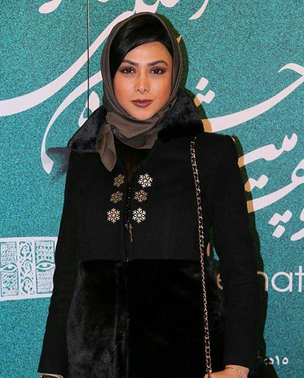 آزاده صمدی در اختتامیه جشنواره تئاتر فجر++عکس