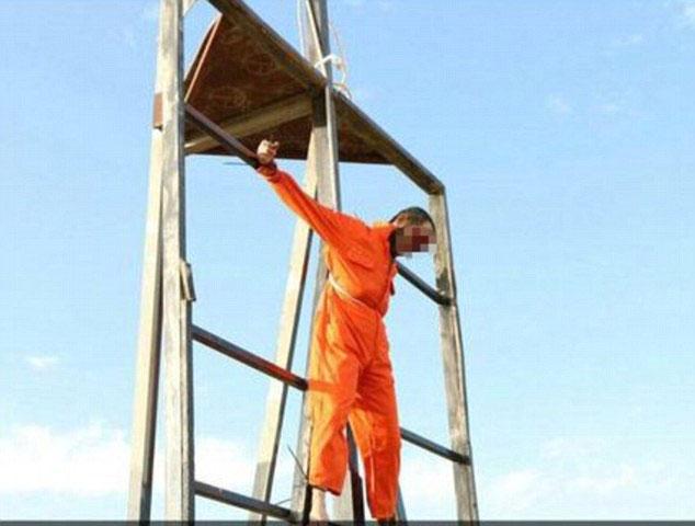 """جلاد جدید داعش """"معلول"""" است + عکس (+۱۸)"""