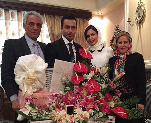 خانم مجری ازدواج کرد + عکس