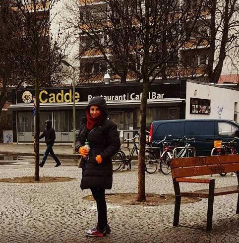 تیپ جدید بهنوش بختیاری در آلمان + عکس