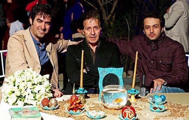 بازیگران سریال شهرزاد کنار سفره هفت سین + عکس