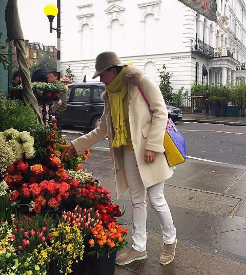 تیپ بهاری الناز شاکردوست در لندن! + عکس