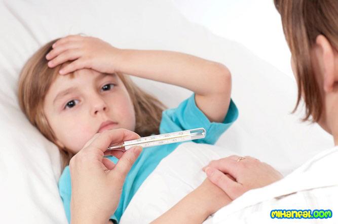 توصیه های خانگی برای رفع تب