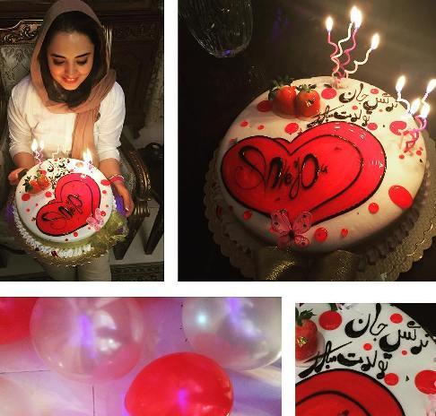 جشن تولد ۳۱ سالگی نرگس محمدی + عکس