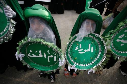 مراسم سوگواری سالگرد رحلت حضرت فاطمه زهرا (س) در شهر نجف عراق