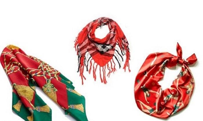 ترفندهای ساده برای استفاده از شال و روسری