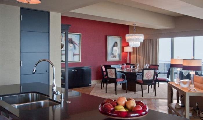کاربرد رنگ قرمز در دکوراسیون داخلی منزل