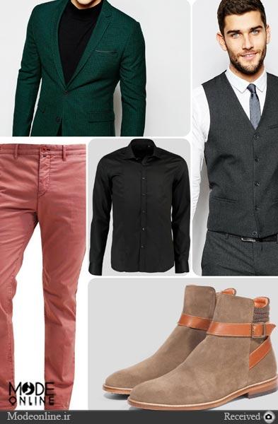 مدل لباس مردانه ۲۰۱۶ : کت و ژیله