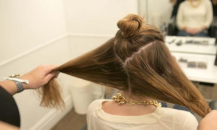 آموزش گام به گام براشینگ برای موهای بلند