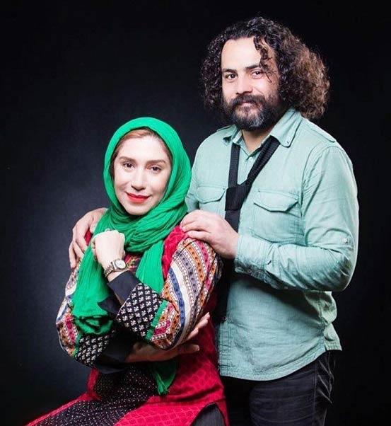 عکس جدید حمیرا خواهر شهرزاد در کنار همسرش