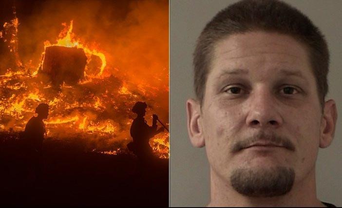 شخصی که برای گرفتن سلفی ۴۰ هزار هکتار جنگل را به آتش کشید + عکس
