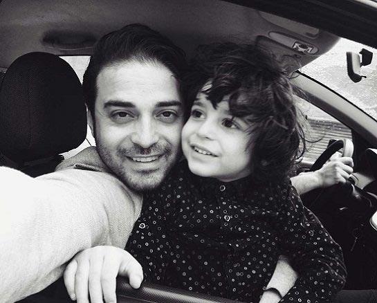 بابک جهانبخش و پسرش + عکس