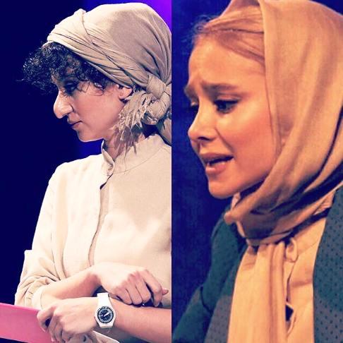 الناز حبیبی قبل و بعد از گریم / عکس