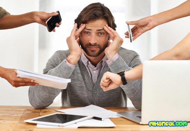 بهترین روش ها برای مقابله با استرس