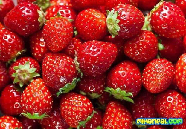 توت فرنگی های قرمزتر را مصرف کنید