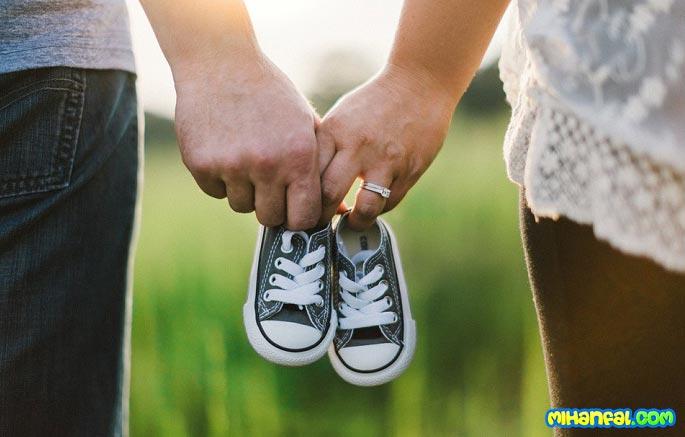 متقاعد کردن شوهر برای بچه دار شدن