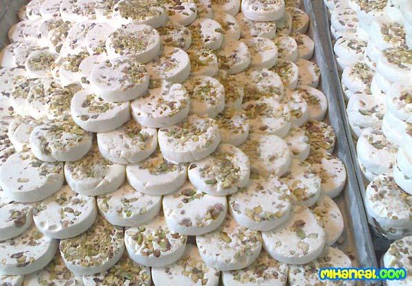 طرز تهیه گز اصفهان در منزل