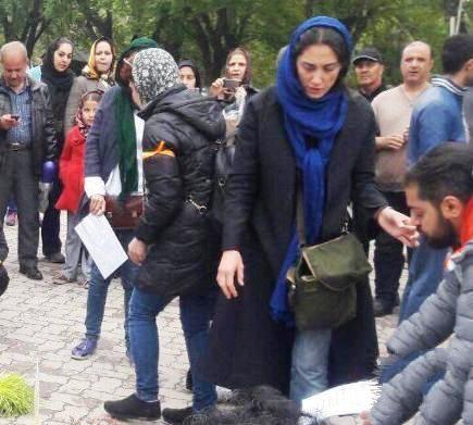 خبر بازداشت هدیه تهرانی در روز ۱۳ بدر ۹۵