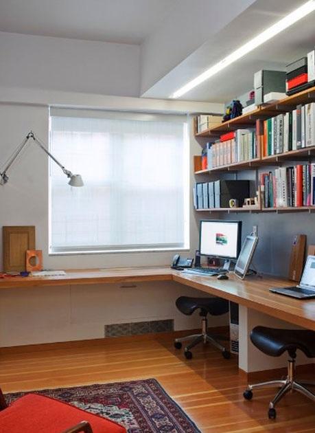 چیدمان و دکوراسیون دفتر کار خانگی