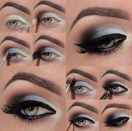 آموزش گام به گام آرایش چشم و ابرو