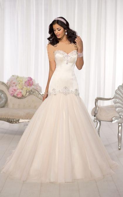 زیباترین مدل لباس عروس دانتل دار