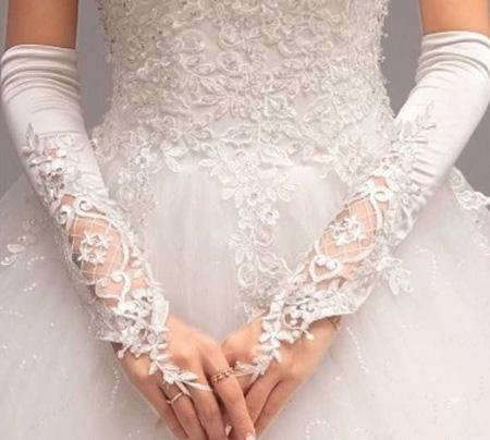 انواع مدل دستکش عروس بلند و کوتاه(سری دوم)