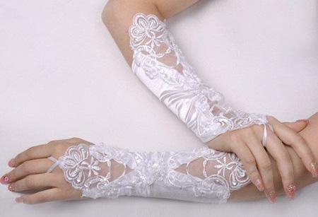 انواع مدل دستکش عروس بلند و کوتاه(سری اول)