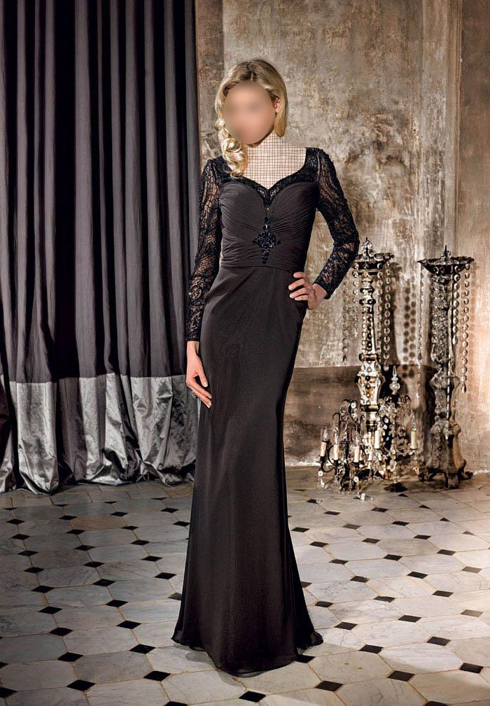 مدلهای لباس شب بلند گیپور
