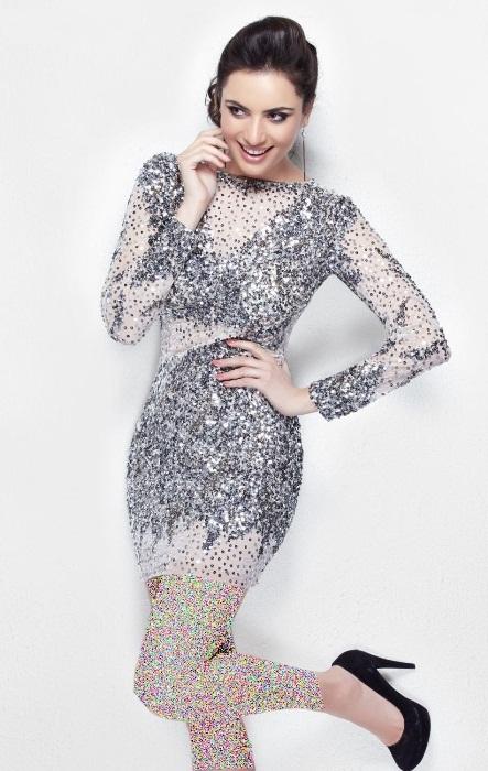 مدل لباس مجلسی پولکی ۲۰۱۶