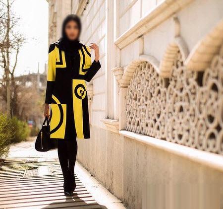 مدل جدید مانتو مجلسی دخترانه بهار ۹۵
