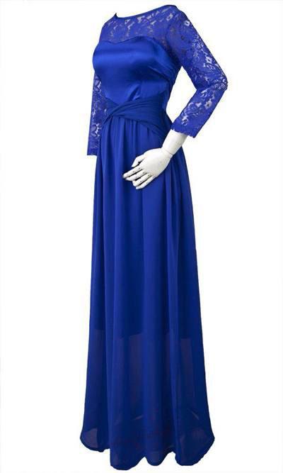 مدل لباس دخترانه مجلسی گیپور ۹۵