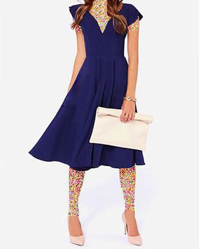 جدیدترین مدلهای لباس مجلسی کوتاه دخترانه
