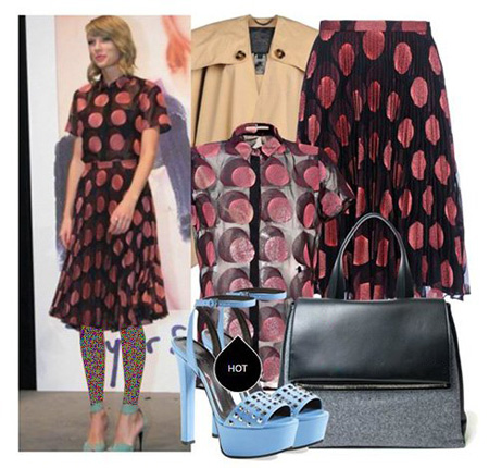 مدلهای لباس بهاره دخترانه به سبک تیلور سویفت Taylor Swift