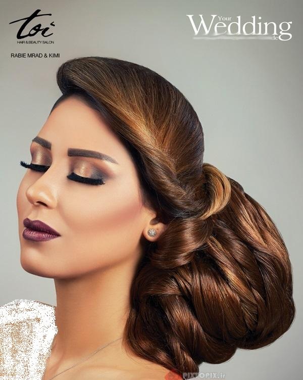 مدل شینیون عروس ۲۰۱۶