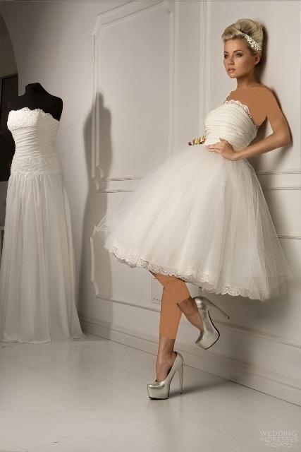 مدلهای جدید لباس عروس بهاری