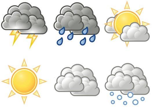 بارش باران در ۱۴ استان کشور