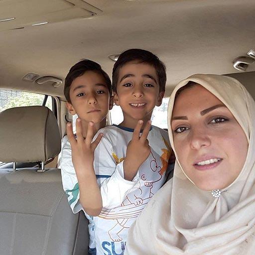 عکس جدید المیرا شریفی مقدم و فرزندانش