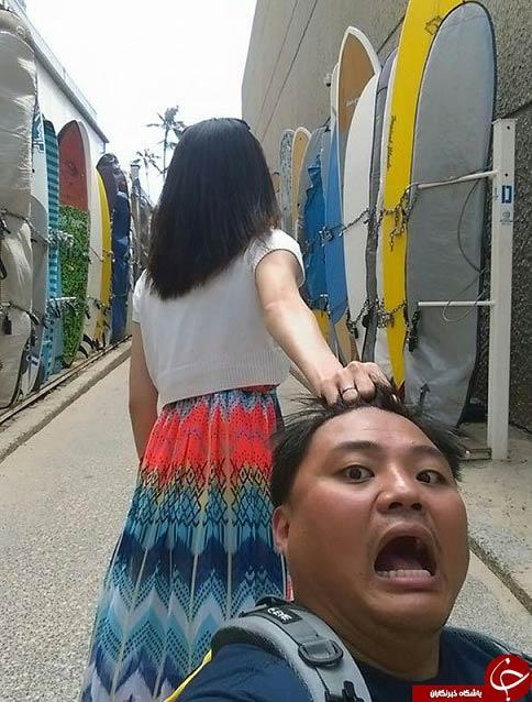 مرد زن ذلیلی که سوژه اینستاگرام شد + تصاویر
