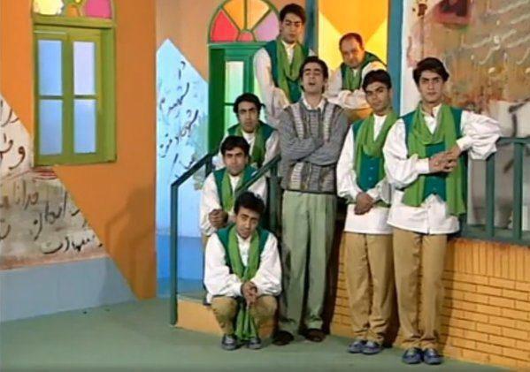 وقتی شهاب حسینی مجری تلویزیون بود + عکس
